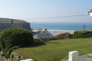 Self catering breaks at Beach View in Watergate Bay, Cornwall